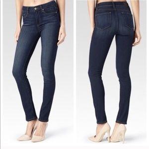 Paige Jeans Skinny Straight Leg  in Noah Sz 27